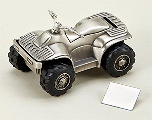 Creative Gifts All Terrain Vehicle Bank, PF 5 1/4x3 1/4 (Bank Vehicle)