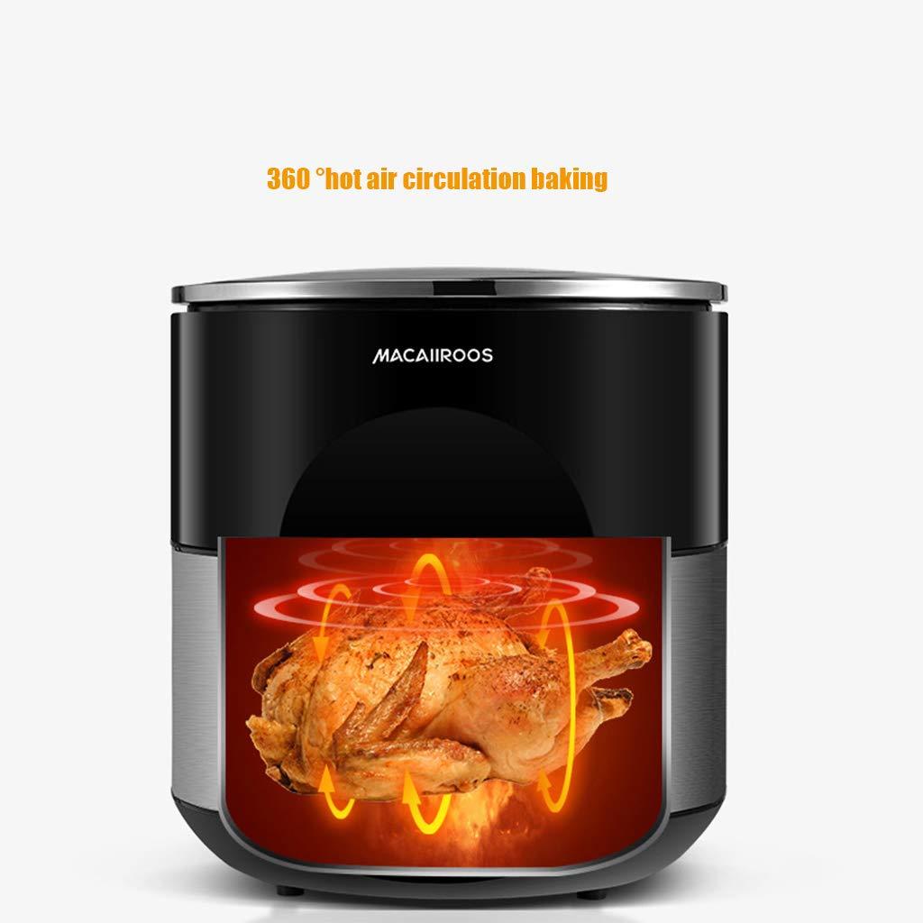 Freidora neumática freidora doméstica con microordenador doméstico 32 l control táctil ciclo de aire caliente: Amazon.es: Hogar