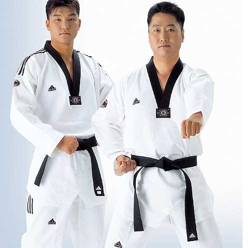 Adidas Grand Master Taekwondo Uniform w/ 3 Stripes