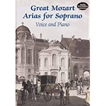 Great Mozart Arias for Soprano: Voice and Piano