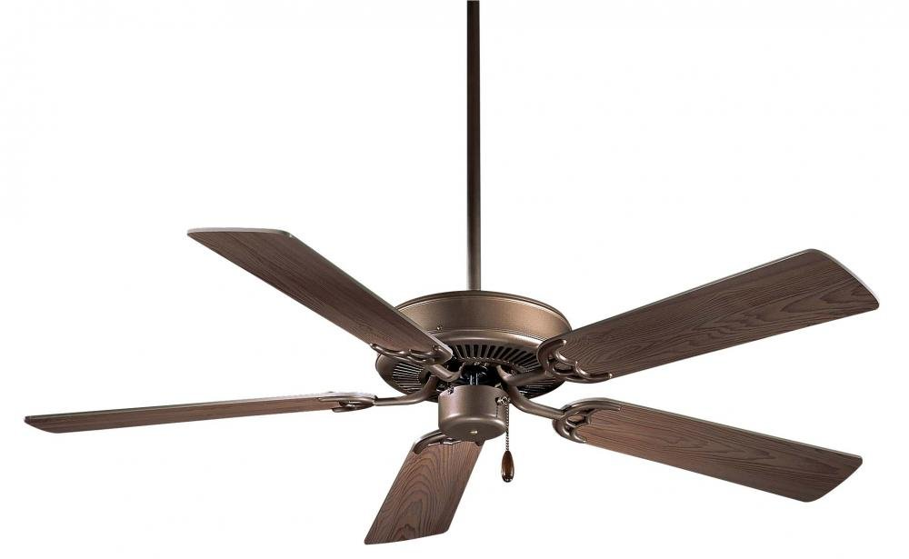 Minka-Aire F546-ORB, Contractor 42'' Ceiling Fan, Oil Rubbed Bronze Finish with Medium Maple Blades
