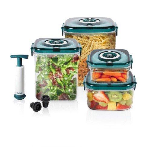 NuWave 24003 11Piece Flavor Lockers Clear