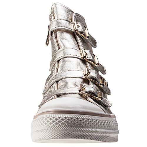Ash Zapatos Virgin Platine Zapatillas Mujer Platine