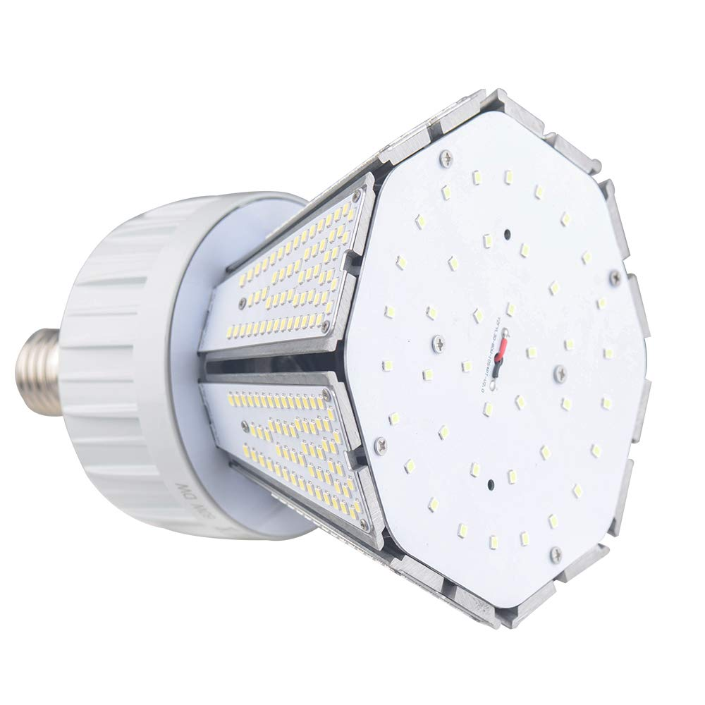 Amazon.com : okaybulb 4 W Post Top Retrofit LED Invert Garden Corn Light 5000K Bulb, Large Mogul E39 Base, 360° Street/Garden Lighting Replacement for 100W ...