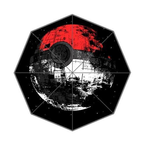 Japanese Anime Pokemon Poke Ball Pattern Custom Foldable Umbrella DIY Umbrella