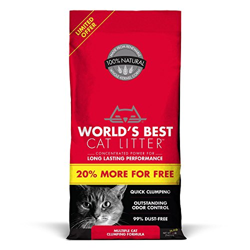 World's Best Cat Litter, Quick Cat Clumping Formula 51ktdHZVHYL