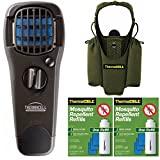 Thermacell Camper039;s Kit : Mosquito Repellent Appliance Black, Holster, 2 Refills (24 Hours Protection)