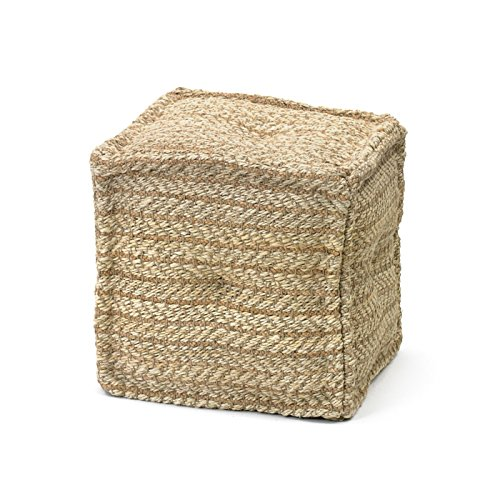 Eclipse Home Collection Boatyard Pouf 17'' L x 17'' W x 16'' H
