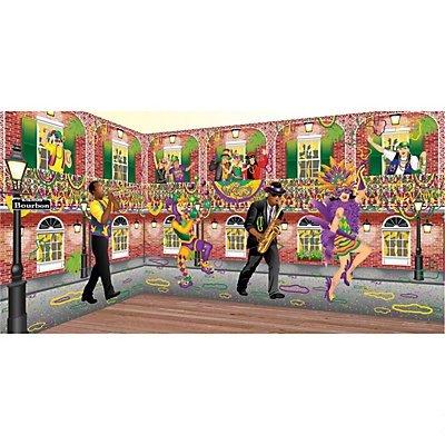 Mardi Gras Design-A-Room Jester Set ()