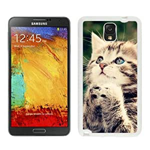 Provide Personalized Customized Christmas Cat White Samsung Galaxy Note 3 Case 29