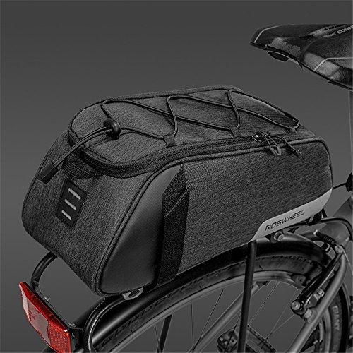AUSTY 35L Multifunctional Bicycle Rear Seat Bag Outdoor Cycling Bike Rack Seat Bag Rear Trunk Pannier Backseat Bag Handbag Shoulder Bag by AUSTY (Image #4)