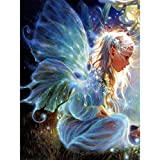 Paint by Number Kits - Lovely Girl Butterfly Fairy