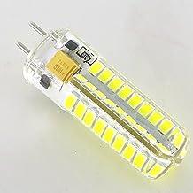 Smartlive 10pcs pack 5W 12V GY6.35 G6.35 Base LED light bulb lamp 40 Watt Equivalent Halogen Bulb replacement Pure White 6000k for Chandelier,Indoor Decorative ,Ceiling Fan,kitchen lighting