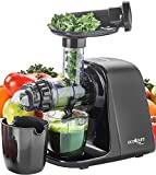 The Eco-Pure Slow Speed Masticating Smart Juicer, STX International Model STX-4000-EP, Featuring Variable Yield Capability, Flow Control Valve, Auto Reverse Anti-Jam, Extra Strainer and Cleaning Tool