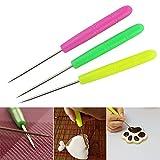 Grosun 6Pcs Sugar Stir Needle Scriber Needle, DIY