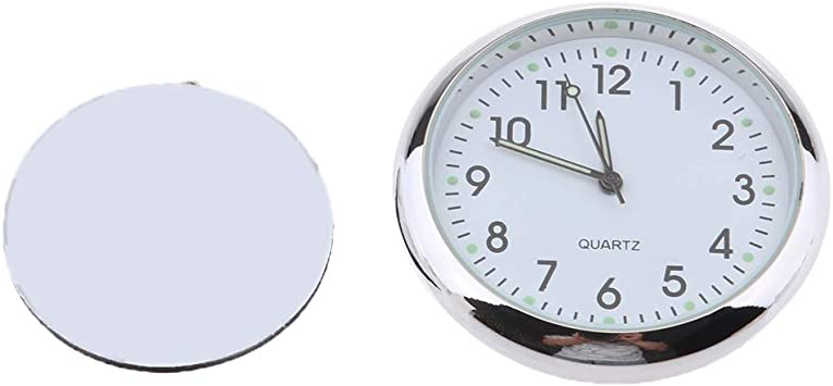 Magideal Mini Wasserdichte Stick On Motorrad Uhr Uhr Elektronik