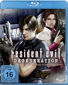 Resident Evil: Degeneration [Alemania] [Blu-ray]: Amazon.es: Kamiya, Makoto: Cine y Series TV