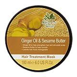 Nature's Series Ginger Oil & Sesame Butter Hair Treatment Mask 6.0 Fl.Oz. (4 Pack)