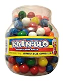 Rain Blo Bubble Jumbo Gum Balls (48oz Jar)