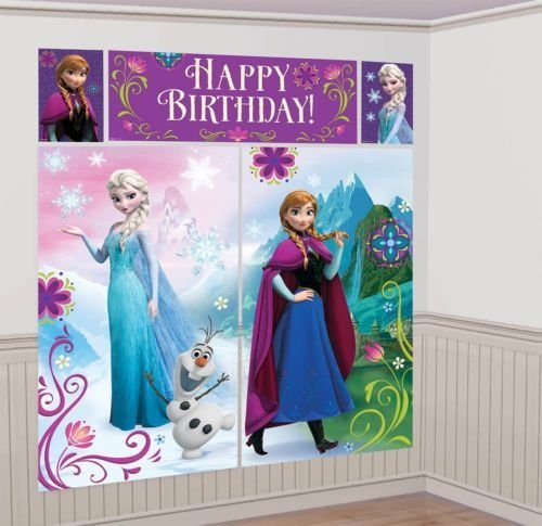 Disney's FROZEN Scene Setters Wall Banner Decorating Kit