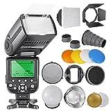 Neewer NW-565 EXN i-TTL Slave Speedlite Flashlight Kit For Nikon D4 D3s D3x D3 D700 D300s D300 D200 D100 D90 D80 D70s D5200 D3200 D7000 D5100 D5000 D3100 D3000 D60 D40X D800 D600 D7100
