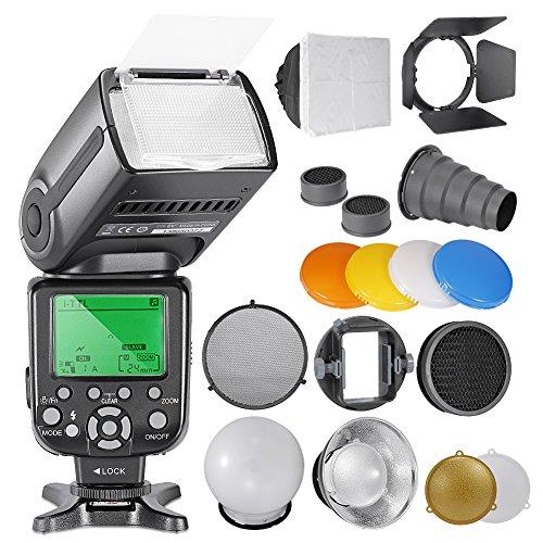 Neewer NW-565 EXN i-TTL Slave Speedlite Flashlight Kit Fo...