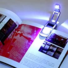 Bright clip on LED Book Light reading Booklight lamp bulb For Kindle TE