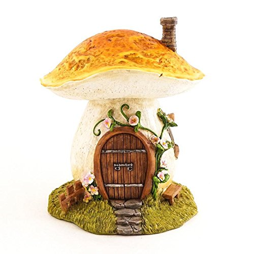 New Miniature My Fairy Gardens Mini - Garden Mushroom Fairy House