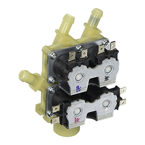 Edgewater Parts DC62-00214L Washing Machine Four Solenoid Water Inlet Valve Compatible with Samsung, Replaces WV0214L