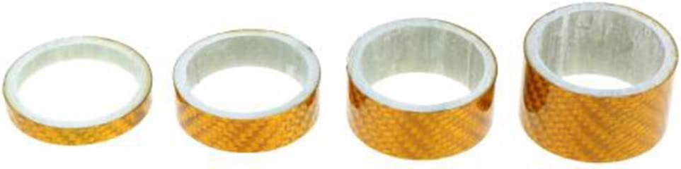 PTCM 4pcs 5//10//15//20 mm en fibre de carbone v/élo v/élo rondelles casque tige entretoise pour fourche 28,6 mm