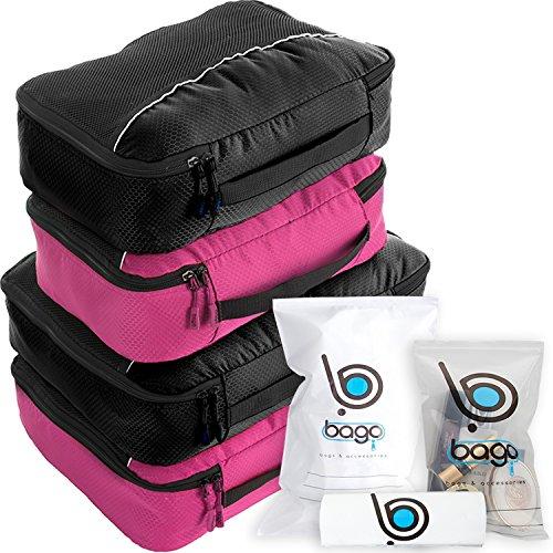 Bago Packing Cubes for Travel Bags - Luggage Organizer 10pcs Set       ()