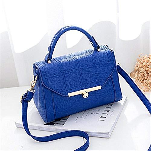 reale Baonv Colore Borsa Borsa Dimensione Reale Blu spalla a Blu Messenger spalla Match All Moontang a Lady Bao g7n6A7P