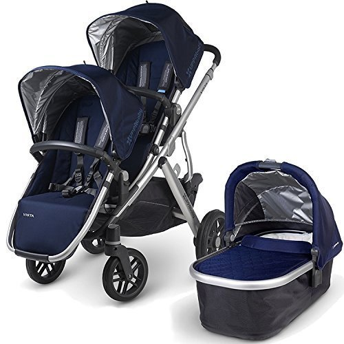 UPPAbaby 2015 Vista Stroller With Rumble Seat (Taylor/Indigo) by UPPAbaby