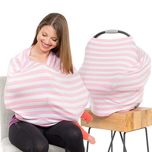 Cool Beans Baby Car Seat Canopy and Nursing Cover | Multiuse