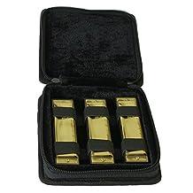 Bluesman Vintage Harmonica Boxed Set of 3 harmonicas C, D, G