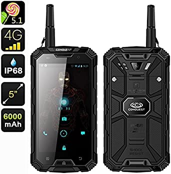Conquest S6 Pro Rugged Smartphone – CPU MTK8752 Octa Core 3 GB de ...
