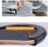DreamFire Skateboard Nose Guard Tail Guard Edge
