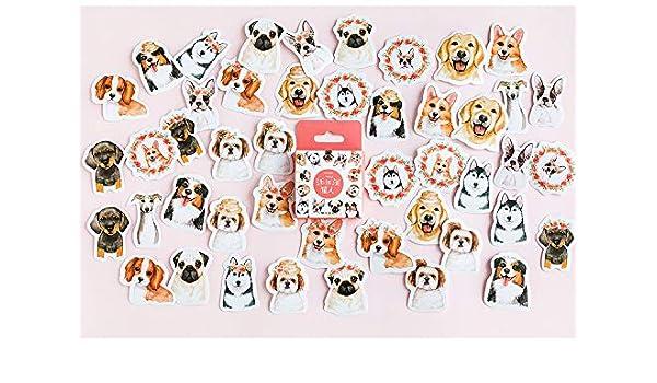46Pcs Cute Stickers Kawaii Stationery DIY Scrapbooking Diary Label Sticker New t