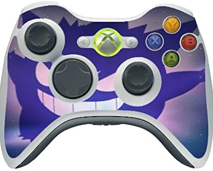 Gengar Silhouette Design Print Image Xbox 360 Wireless Controller Vinyl Decal Sticker Skin by Trendy Accessories