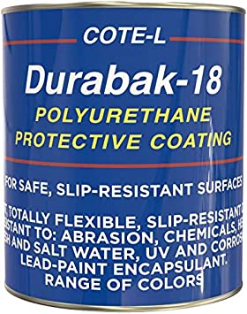 Automotive Rust Proofing Outdoor UV Resistant DIY Custom Coat for Bedliner and Undercoating Auto Body Textured Baby Blue Truck Bed Liner KIT Quart- Roll On Coating Roller Boat Repair Incl