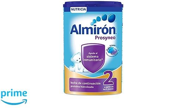 Almirón Prosyneo 2 Leche de Continuación en Polvo desde los 6 Meses - 800 g: Amazon.es: Alimentación y bebidas