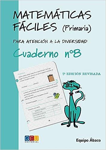 ac9f57a43f459 Matemáticas Fáciles Para Atención a la Diversidad - Cuaderno 8 ...