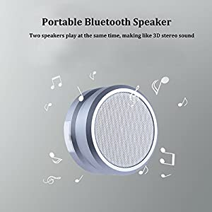 Waterproof Wireless Speaker: Mega Bass, IPX7 Water Resistant, Mosquito Reject, 10hrs Music Play, Best Bluetooth Speaker for Home Travel Beach Shower, by YOREN (Love Gifts for men boyfriend)
