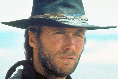 Clint Eastwood High Plains Drifter Color Poster