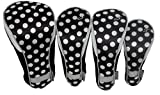 Taboo Fashions 4-Pack Designer Golf Club Cover Head Cover Set (City Lights)