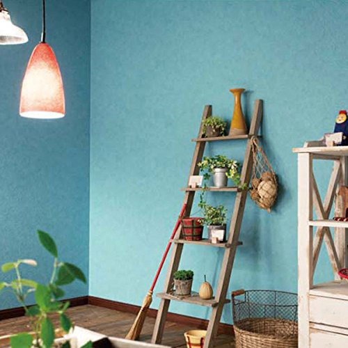 きせかえマイホーム『はがせる壁紙RILM(リルム) 漆喰調ブルー(150)』