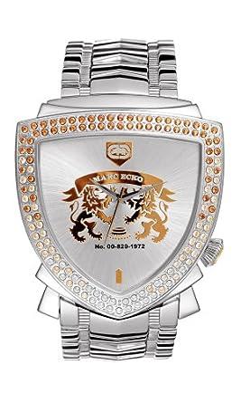 Marc Ecko Plateado Reloj – E12501G1