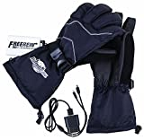 Flambeau F200 3.7V Rechargeable Heated Gloves Kit-Synthetic Palm, Black (Large)