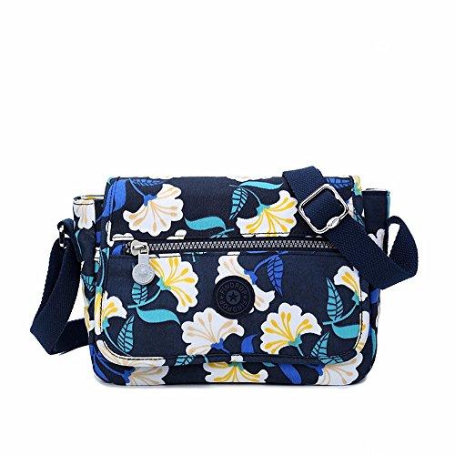 Fashion Single Shoulder Bag, Nylon Fabric Bag Leisure Travel, Navy Gules