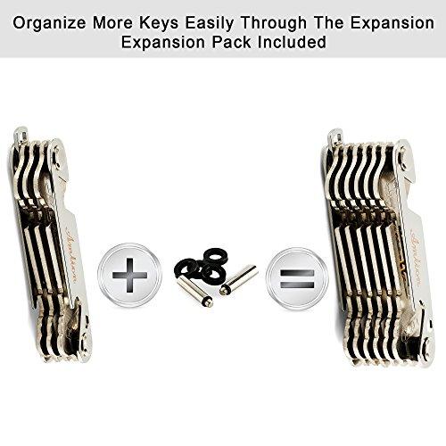 Compact Key Organizer Smart Key Holder-Pocket Key ...